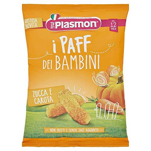 Plasmon Paff, Zucca e Carota, 5 x 15 g