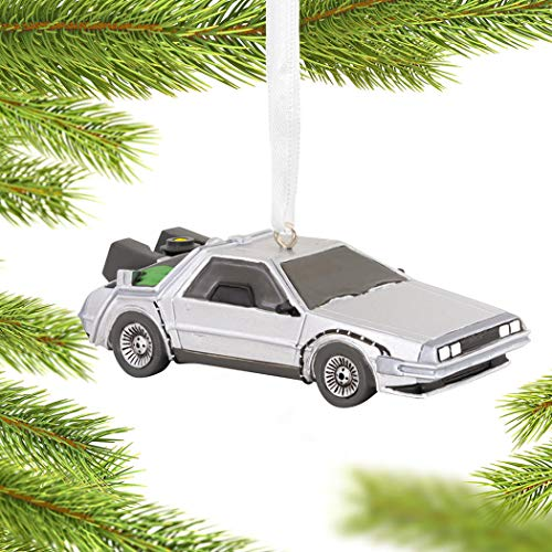 Back to The Future Delorean Christmas Ornament