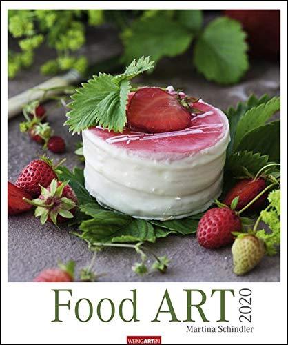 Food Art Edition. Wandkalender 2020. Monatskalendarium. Spiralbindung. Format 46 x 55 cm