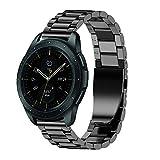 JiaMeng Diamante Pulsera de Reloj Reemplazo Banda Correa reemplazo de la Pulsera del Acero Inoxidable Compatible con Galaxy 42mm