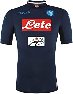 2017-2018 Napoli Authentic Third Football Soccer T-Shirt Jersey