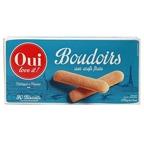 Oui Love It, French LadyFinger Biscuits (Boudoirs), 175g Box