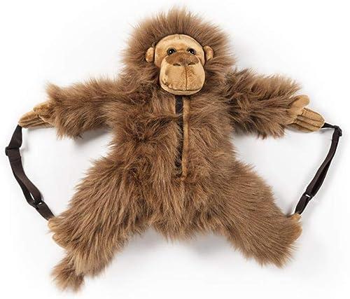 comprar mejor Wild & Soft Kids Plush Plush Plush Monkey Orangutan Animal Backpack  Envío 100% gratuito