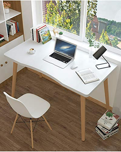 Utilite™ Nordic Style Smart Study Table for Modern Homes, Multi-Purpose Office Desk Workstation, One Step Installation (Black (80 X 50 cm))