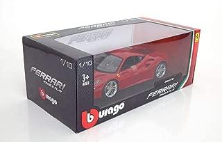 1/18 Bburago Ferrari 488 GTB Red