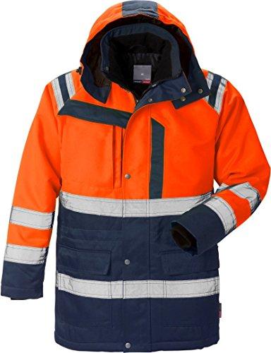 Fristads Kansas Workwear 119629 Arbeitskleidung, hochsichtbar, orange/marineblau, 3XL