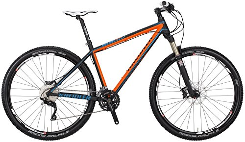 Kreidler Dice SL 29er 2.0 Twenty Niner Mountain Bike 2015 (Schwarz/Orange, 42cm)