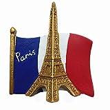 Flagge Eiffelturm Paris Frankreich Kühlschrank Magnet Reise Souvenir Geschenk Home Küche Dekoration Magnetaufkleber Paris Kühlschrank Magnet Kollektion