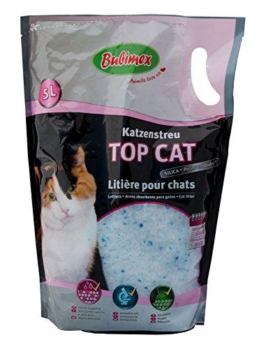 Bubimex Top-Cat-Litter Katzenstreu Premium Silicat 5 l