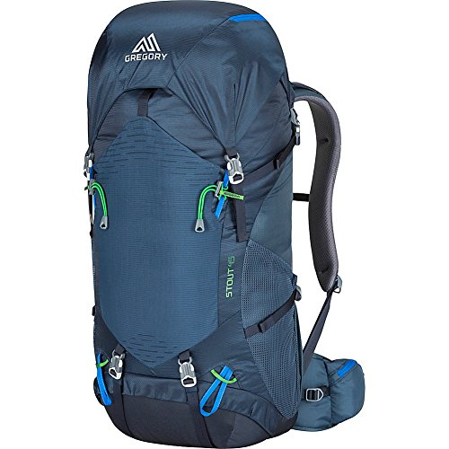Gregory Mountain Products Stout 45 Liter Men's Backpack, Navy Blue, One Size