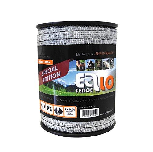 Weidezaunband Ellofence 12,5mm, Topqualität für extra lange Zäune (200m)
