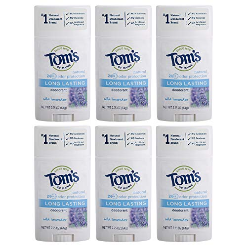 Tom's of Maine Long Lasting Deodorant, Deodorant for Women, Natural...