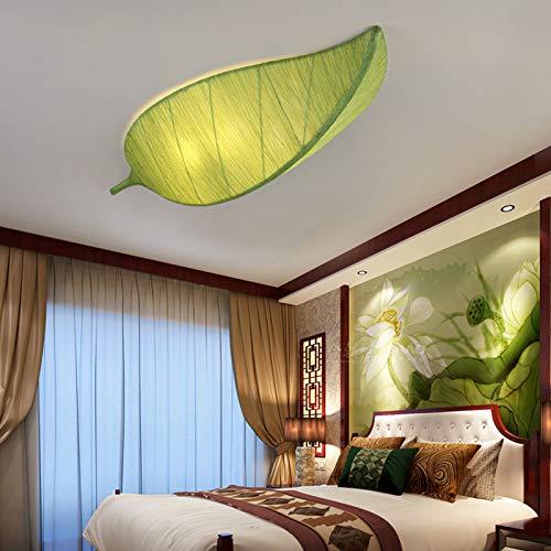 Led Wandleuchte Chandeliercloth Pendelleuchten Blattform Laternen Pendelleuchten Hotel Villen Restaurant Wohnzimmer Farbe Lampen Art Decor Home Beleuchtung, lange 80Cm