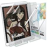 BELLEMOND 2 Stück Japanische Paper Feel Displayschutzfolie für iPad Air & Pro 10,5' - Schreiben, Zeichnen und Skizzieren wie auf Papier mit Apple Pencil - Blendfreie Matte Like Paper PET...