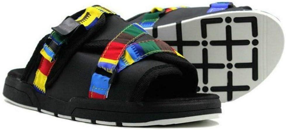 LAMZH Summer Sandals Men Shoes Slippers Size F 36-46 40% OFF Cheap Sale unisex Plus