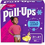 Pull-Ups Cool & Learn Girls' Training Pants, 3T-4T, 66 Ct
