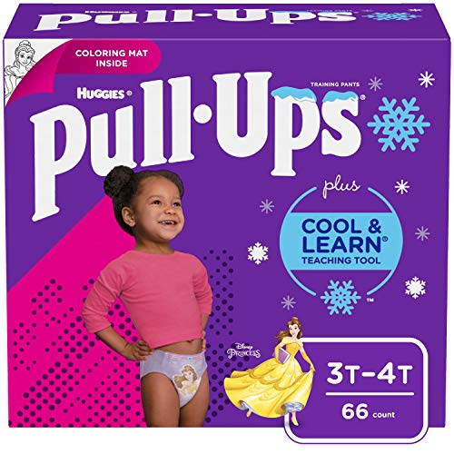 Product Image of the Pull-Ups Cool & Learn Girls' Training Pants, 3T-4T, 66 Ct