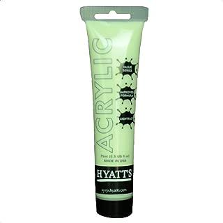 Hyatt's Acrylic Paint, Glow in The Dark, 75 Milliliter Tube