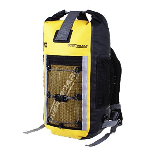 Flota de manera segura si se cae al agua Protege el contenido de polvo, arena, suciedad y agua Parches reflectantes en el frente de la bolsa y ambas correas de los hombros