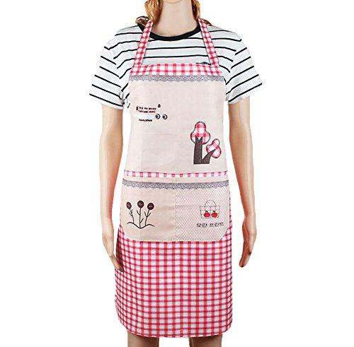 fabl Crew Mode Cuisson antiöl Tablier de cuisine art Tablier de cuisine et réglable 90 × 70 cm sympa 1stück, rosa, 90× 70 cm