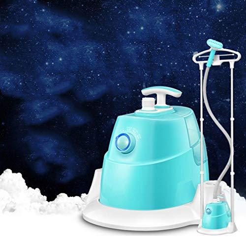 GONGFF Wäschedampfer, Haushalt Doppelbar Dampf hängende HoIroning Maschine Mini hängendes Eisen Eisen ConvenienIroning Kleidung, blau, konventionell