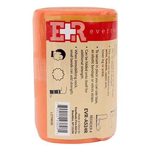 Ever Ready First Aid Universal Aluminum Splint, 24 Inch Rolled (1)