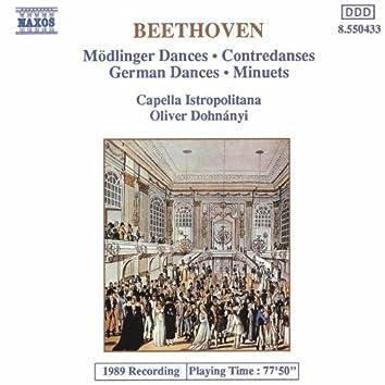 BEETHOVEN: 11 Modlinger Dances / 12 German Dances / 12 Minuets