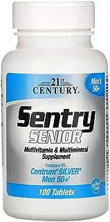 21st Century Sentry Senior Multivitamin & Multimineral Supplement Men 50+, 100 Tablets