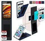 reboon Coque Motorola Moto X Force   Bleu   Étui Housse Cover Case Bumper fonctinnel