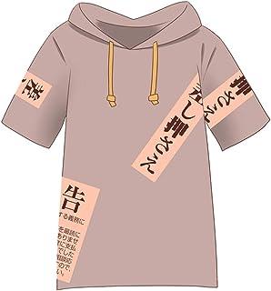 「C.progressive」東方プロジェクト 依神紫苑 コスプレ シャツ 衣装 よりがみ しおん コスチューム 少し大きめ (服装, L)