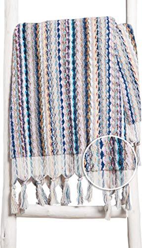 ZusenZomer badstof bad- en saunadoek Turkse XL met franjes Feliz 80x160 Hammam handdoek 100% katoen 600g - pluizig handgeweven - Fair Trade Turkse handdoeken (kleur)