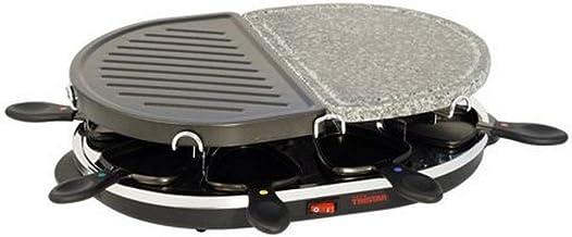 Tristar - Raclette grill et pierre à griller - 8 personnes - 1 200 watts - RA 2946 (Import Allemagne)