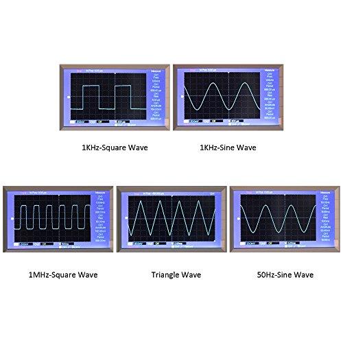 『KKmoon XR2206 信号発生器 高精度 ファンクション信号発生器 DIYキット 正弦/三角/正方形 出力1Hz〜1MHz 周波数振幅調整可能』の7枚目の画像