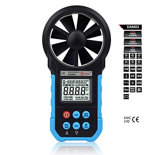 Desconocido Bside EAM031,7Pulgadas LCD Digital Profesional Velocidad del Viento...