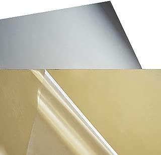 2mm Thick Acrylic Plexiglass Sheet (A4 Size,Golden Mirror)