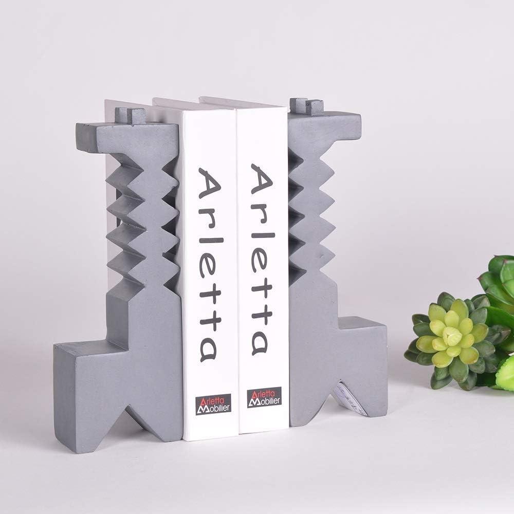 Max 58% OFF JF-XUAN Ultra-Cheap Deals Bookends Abstract Design Giraffe Bookend Mag Model Resin
