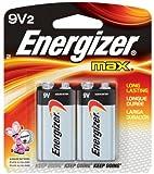 Energizer 9V Batteries, Premium Alkaline, 2 Count