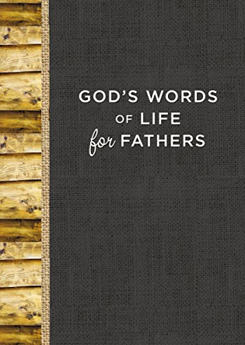 God's Words of Life for Fathers by [Zondervan,]