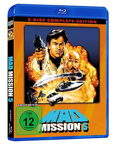 Mad Mission 5 - Uncut - 2 Disc Complete-Edition (Blu-ray + DVD)