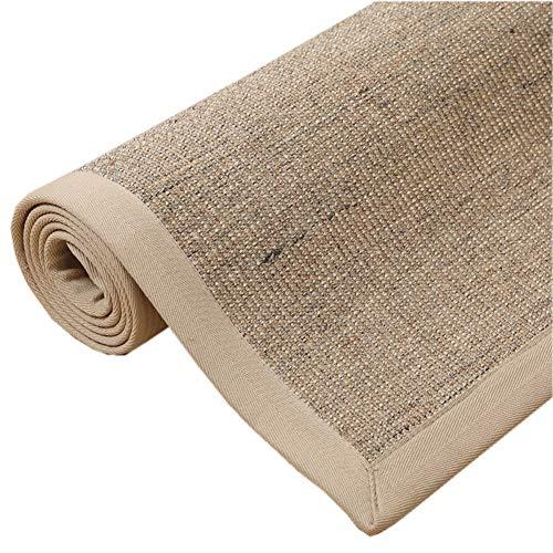 RUIRUI Anti-Slip tapijten Deurmatten Woonkamer Natuurlijke Sisal Slijtvaste Tapijt Lange Tropische Tapijten Woonkamer Tapijten Vloermatten