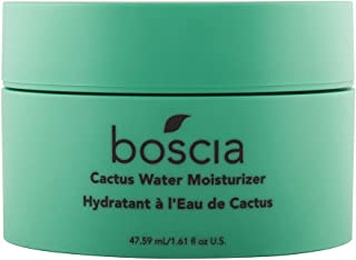 boscia Cactus Water Moisturizer – Cactus and Aloe Vera Daily Lightweight Gel Moisturizer, 1.61 fl Oz