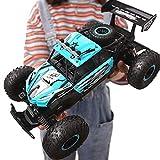 Kikioo 1:14 de coches de juguete RC 4WD de coches de control remoto 2.4Ghz vehículo eléctrico RC juega Monster Truck Buggy Off-Road Racing Boy Child Tasación Drift 20km / h de escalada profesional de