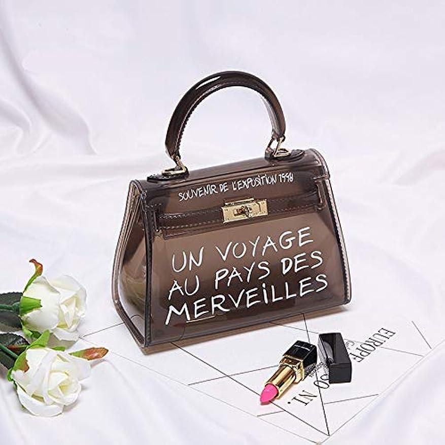 コート郵便局負クリア透明 PVC 女性のキャンディーカラーの女性のゼリーの袋財布ソリッドカラーのハンドバッグ嚢クロスボディバッグ小銭入れ カード