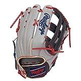 ローリングス(Rawlings) 野球用 軟式 HOH® MLB COLORSYNC [外野手用] サイズ13.0 GR1HMY70 グレー/ネイビー サイズ 13 ※右投用