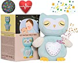 Baby Sleep Aid with Cry Sensor, Baby Sleep Soothers with Heartbeat Stuffed Animal, Sound Machine for New Baby, Baby Gifts, Baby Soother for Crib