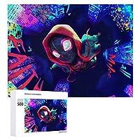 スパイダーマン ジグソーパズル 1000ピース 絵画 学生 子供 大人 向け 木製パズル TOYS AND GAMES おもちゃ 幼児 アニメ 漫画 プレゼント 壁飾り 無毒無害 ギフト