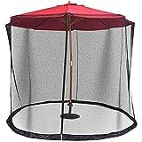 Liamostee - Colino da Patio con Cerniera per ombrelloni e tavoli, 300cm x 220cm