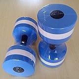 Der Wolf Moon® Wasser Aerobic-Training Schaum Hanteln Pool Widerstand 1Paar, Wasser Fitness...