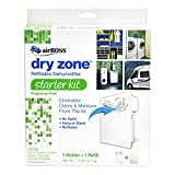 airBOSS 759 Dry Zone Refillable Dehumidifier Starter Kit 3 Piece