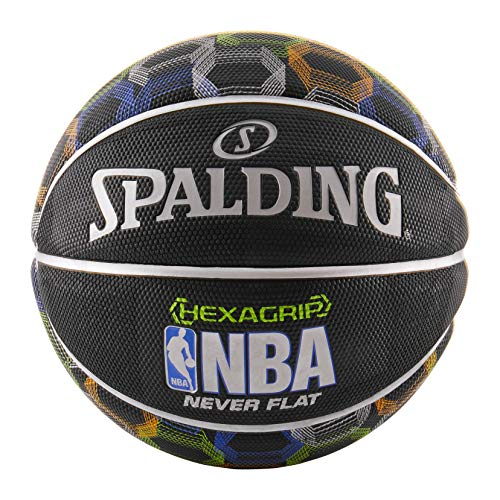Spalding NBA SGT NeverFlat Hexagrip Basketball